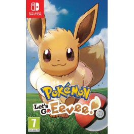 Pokemon Lets go Eevee! + Poke Ball - SWI